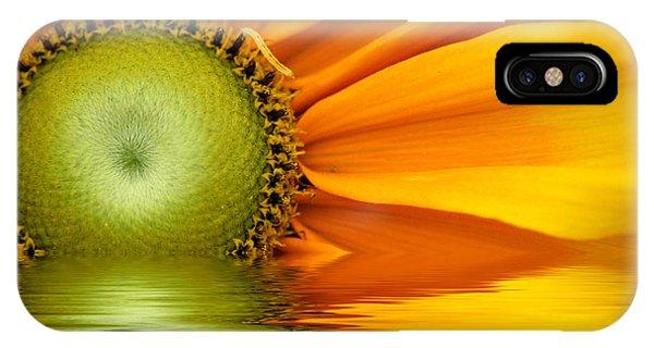 Yellow Sunflower Sunrise IPhone Case