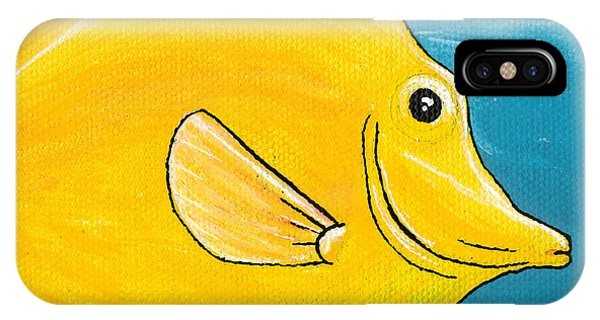 Yellow Tang IPhone Case