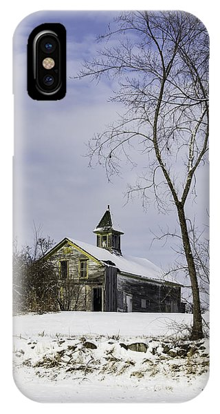 Yellow Trimmed Barn IPhone Case