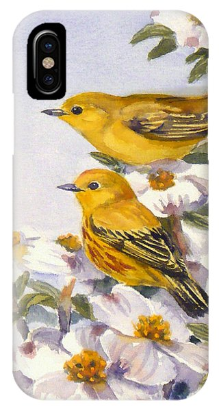 Yellow Warblers IPhone Case