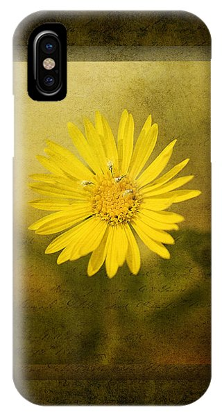 Yellow Wildflower IPhone Case