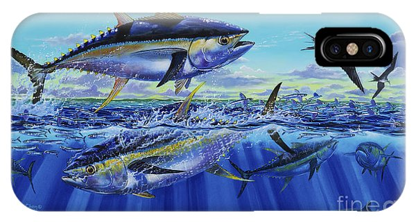 Reel iPhone Case - Yellowfin Bust Off0083 by Carey Chen