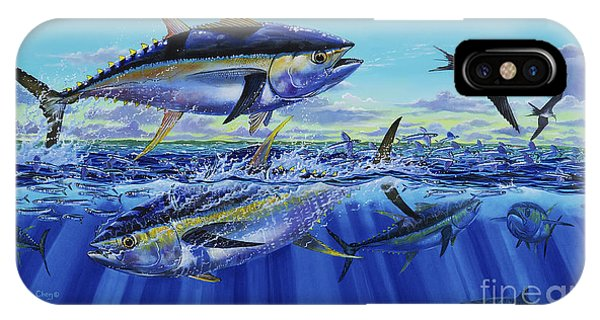 Bahamas iPhone Case - Yellowfin Bust Off0083 by Carey Chen