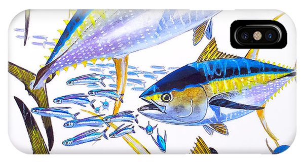 Yellowfin Run IPhone Case