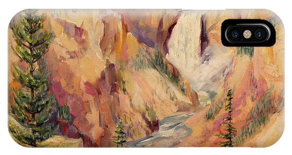 Yellowstone Canyon 1930 IPhone Case