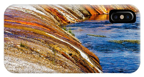 Yellowstone National Park iPhone Case - Yellowstone Earthtones by Bill Gallagher