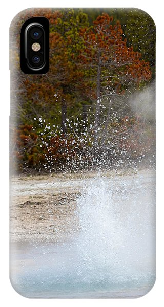 Yellowstone Geyser IPhone Case