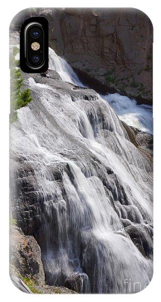 Yellowstone Gibbon Falls IPhone Case