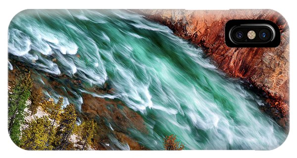 Yellowstone iPhone Case - Yellowstone River by Ignacio Palacios