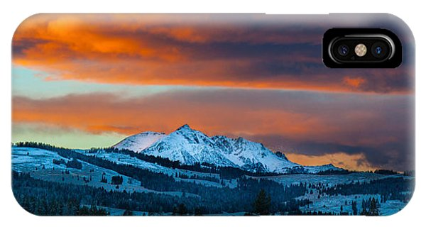 Yellowstone Sunset IPhone Case