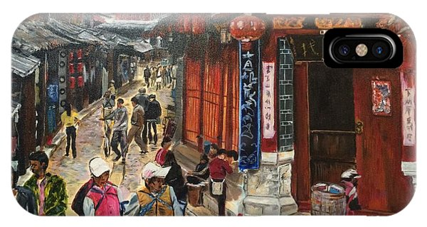 China Town iPhone Case - Yesterday Once More by Belinda Low