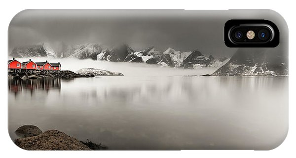 Fishing iPhone Case - Yesterday's Dream by Lior Yaakobi