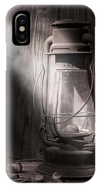 Barn iPhone Case - Yesterday's Light by Tom Mc Nemar