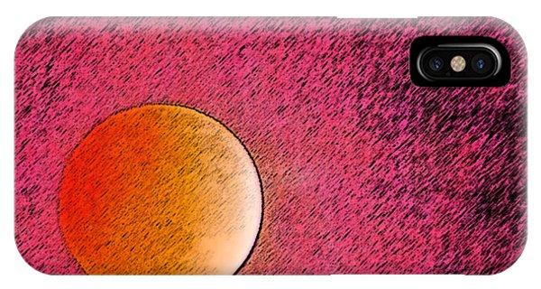 Yet Another Blood Moon Phone Case by Carolina Liechtenstein