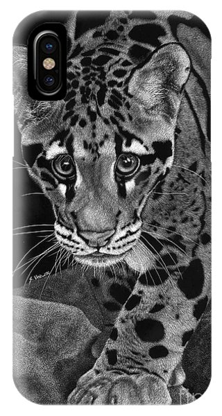 Yim - The Clouded Leopard IPhone Case