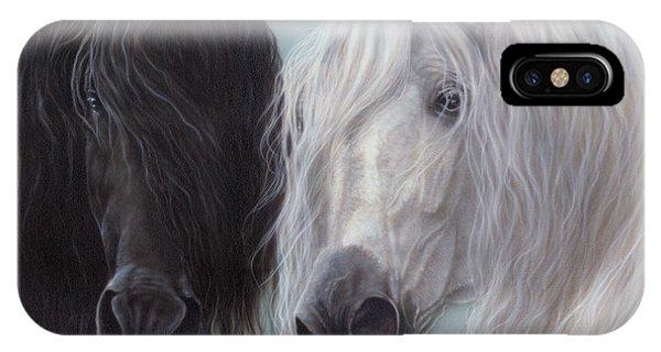Yin-yang Horses  IPhone Case