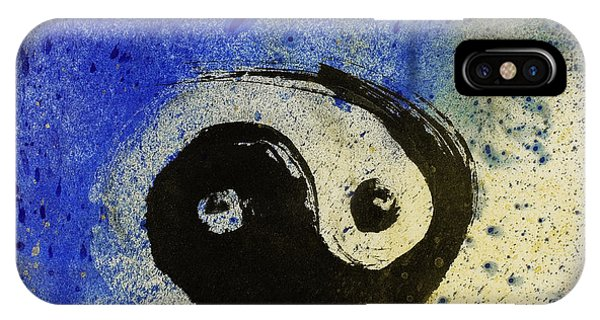 Yin Yang Painting IPhone Case
