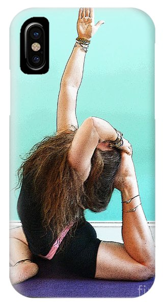 Yoga Study 3 IPhone Case