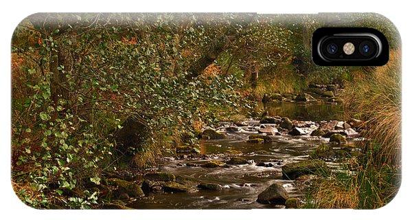 Yorkshire Moors Stream In Autumn IPhone Case