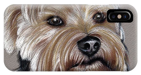 Yorkshire Terrier- Drawing IPhone Case