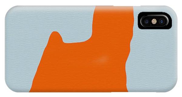 Yorkshire Terrier Orange IPhone Case