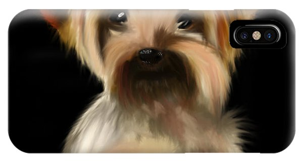 Yorkshire Terrier Pup IPhone Case
