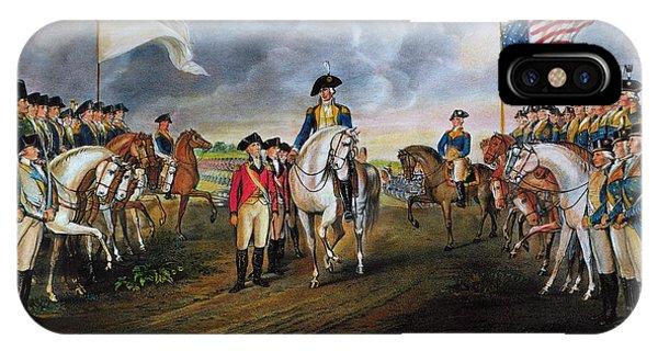 Yorktown iPhone Case - Yorktown: Surrender, 1781 by Granger