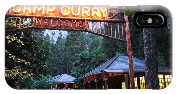 Yosemite Curry Village IPhone Case