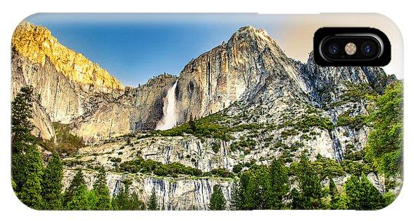 Nice iPhone Case - Yosemite Falls  by Az Jackson