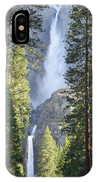 Yosemite Falls In Morning Splendor IPhone Case