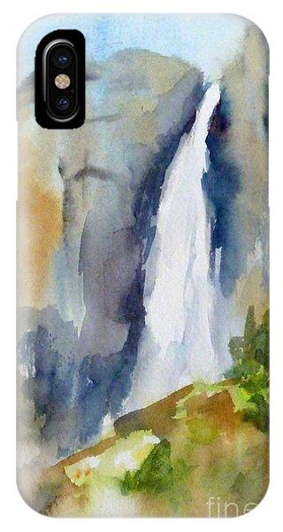 Yosemite Falls Springtime IPhone Case