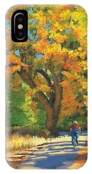 Yosemite In Autumn IPhone Case