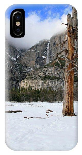 Yosemite In The Dead Of Winter IPhone Case