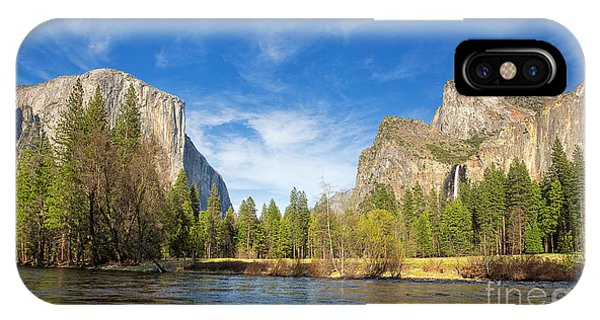 Cathedral Rock iPhone Case - Yosemite by Jane Rix
