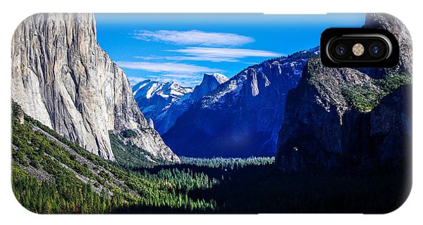 Yosemite National Park Tunnel View IPhone Case