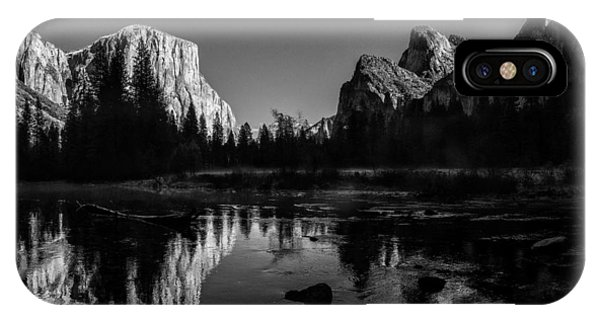 Yosemite National Park Valley View Winterscape IPhone Case