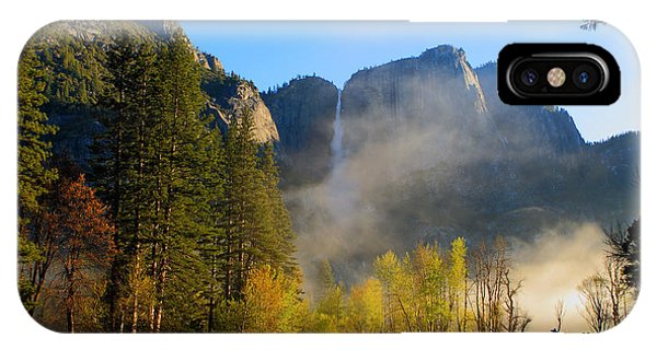 Yosemite River Mist IPhone Case