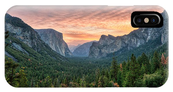 Yosemite Sunrise IPhone Case