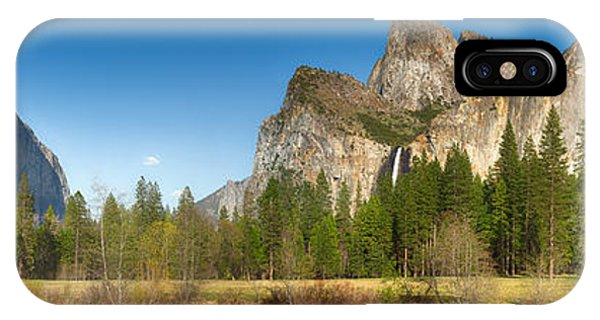 Yosemite Valley And Merced River IPhone Case