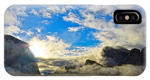 Yosemite Valley As Heaven IPhone Case
