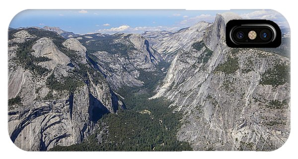 Yosemite Valley From Glacier Point IPhone Case