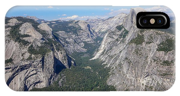 Yosemite Valley From Above IPhone Case