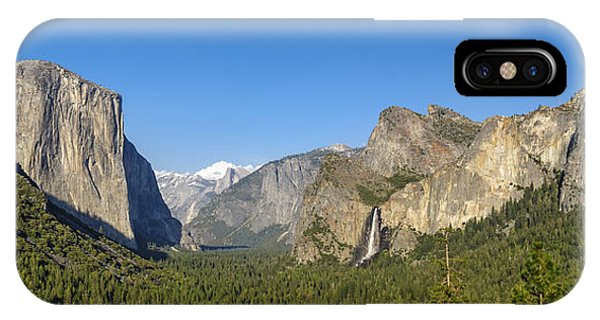 IPhone Case featuring the photograph Yosemite Valley Moonrise by Steven Sparks