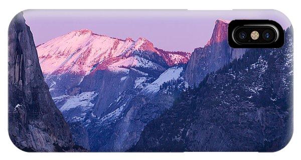 Yosemite Valley Panorama IPhone Case