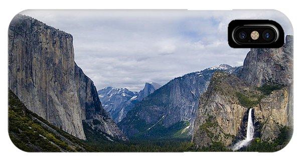 Yosemite Valley Panoramic IPhone Case