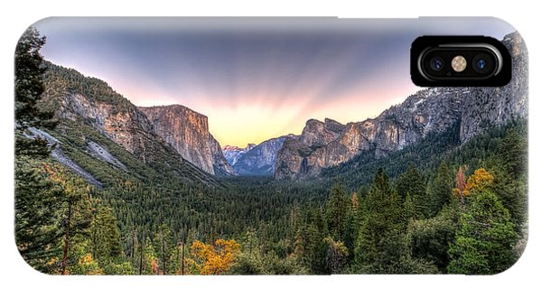 Yosemite View IPhone Case