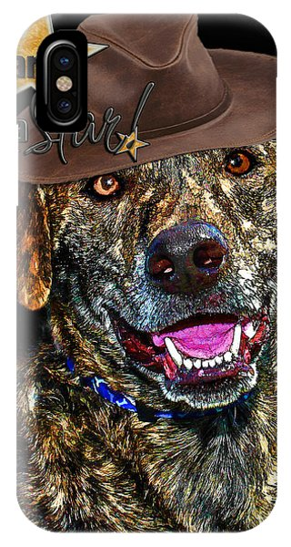 IPhone Case featuring the digital art You Are A Star by Kathy Tarochione