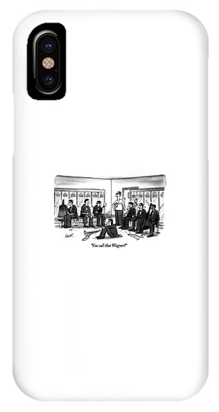 You Call That Wagner? IPhone Case