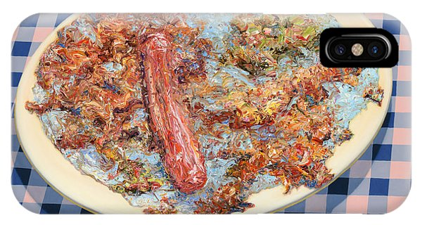 Table iPhone Case - You Can't Eat Paint by James W Johnson