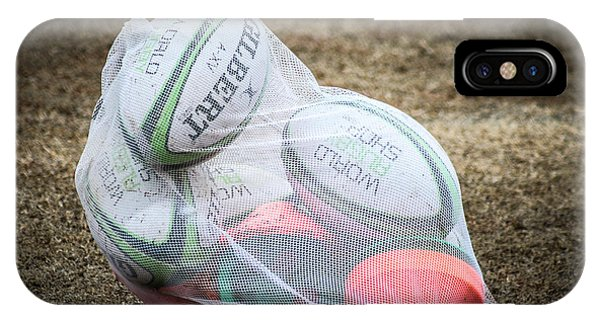 You Gotta Have Balls To Play Rugby IPhone Case